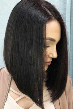 Best Hairstyles & Haircuts for Women in 2017 / 2018 : 18 Amazing Ideas for Long Bob Haircuts ★ Straight Long Bob Hairstyles for Fast… Long Bob Haircuts, Long Bob Hairstyles, Straight Long Bob, Medium Hair Styles, Short Hair Styles, Lob Haircut, Fine Hair, Neue Trends, My Hair