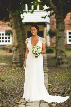 Deanna And Jason S Glamorous York Wedding With A Jenny Packham Dress By S6 Photography Lace