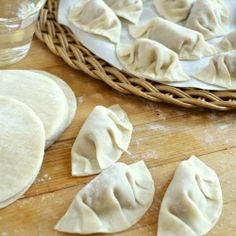 It's surprisingly easy to make these classic Chicken Gyoza, or Japanese Potstickers, at home using ready made wrappers