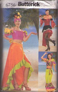 1940 cuban dance costume - Google Search