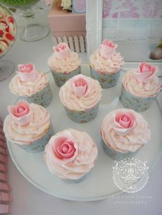 Darling ideas (it is for a 1st birthday party --- a little over the top for that) that could be used for an Adult tea party
