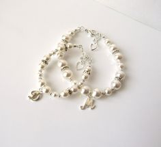 Mother Daughter Bracelet Set Mommy and Me by MelJoyCreations