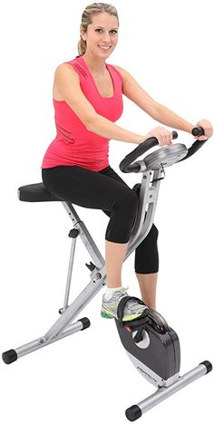 [MEN'S HEALTH EDITOR'S CHOICE]: Supports up to 300 lbs. weight capacity which is 75 lbs. more capacity than most other folding bikes. Very easy to get off and on the bike, providing a more effective and comfortable workout. Best Exercise Bike, Upright Exercise Bike, Gym, Workout, Health, Fitness, Easy, Salud, Health Care