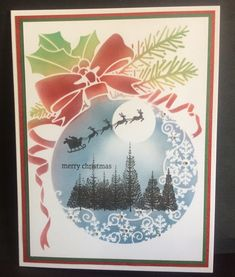 Christmas Baubles, Christmas Snowman, Christmas Cards, Merry Christmas, Poppy Cards, Under The Mistletoe, How To Make Snow, Winter Cards, Burning Candle