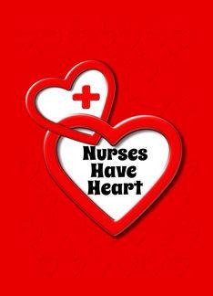 Happy Nurses Day Nurses Have Heart Lots of Hearts Greeting Card