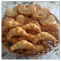 Palmeritas y Mini Croissants