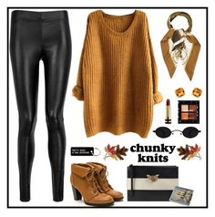 """Chunky Knits #214"" by emydeishly ❤ liked on Polyvore featuring Joseph, Gucci, Anne Klein, Cartier, Effy Jewelry, Hermès and Various Projects"