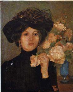 themetropolitanline:  colourthysoul:  Vlaho Bukovac - Baroness Rukavina (1898).