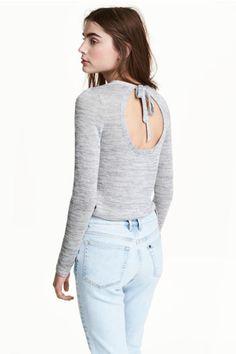 Fijngebreide trui | H&M