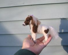 Needle Felted Animal / Shetland Pony by Fiber by GourmetFelted