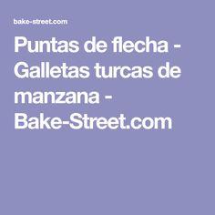 Puntas de flecha - Galletas turcas de manzana - Bake-Street.com