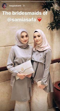Trendy Dress Hijab Bridesmaid Brukat Ideas Source by # Kebaya Lace, Kebaya Hijab, Kebaya Dress, Kebaya Muslim, Batik Kebaya, Muslim Dress, Batik Dress, Kebaya Modern Hijab, Hijab Casual