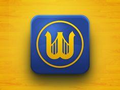 Golden State Warriors : App Icon by Christopher Muñoz