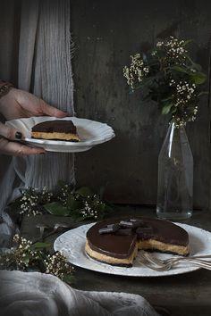 Tarta de oreo, chocolate y manteca de cacahuete. To be Gourmet | Recetas de cocina, gastronomía y restaurantes.