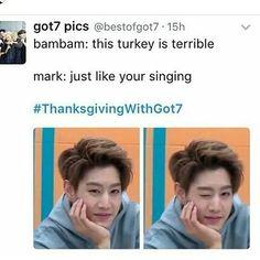 #thanksgivingwithgot7