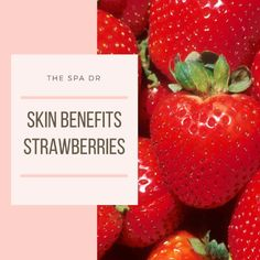 Strawberries are a great treat for dull, damaged or blemish prone skin. Strawberries also help protect our skins collagen structures. https://video.buffer.com/v/59b6c6ec290a61323ad7d921
