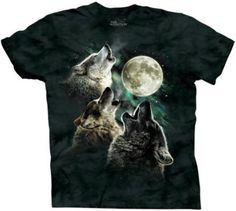Three Wolf Moon Tshirt - Courtesy of Dwight Schrute