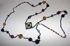 Pagan Prayer Beads, each bead represents a different god or goddess of the Greek Pantheon.