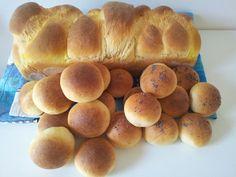 Pasticceria salata...Pan brioche e panini al latte.