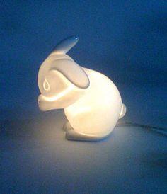 Aaww <3 Rabbit lamp €75.15  #light