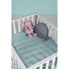 Jollein boxkleed*Diamond knit* - BellyBloz - Baby & zwangerschap artikelen Vintage Green, Cribs, Toddler Bed, Knitting, Diamond, Furniture, Home Decor, Jade, Box