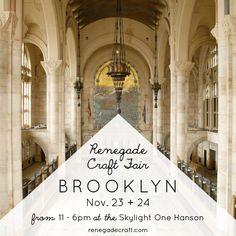 The Renegade Craft Fair Winter Market :: Brooklyn