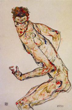 """Egon Schiele: """"Fighter"""""""