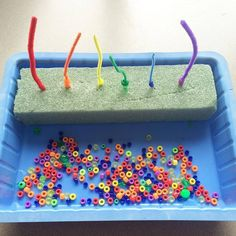 Color Matching, fine motor or hand eye coordination for toddlers & preschoolers.