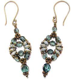 Circe Earrings, Sova Enterprises
