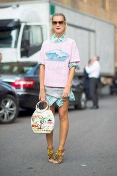 Milan Street Style 2012 - Milan Fashion Week Spring 2013 Style - ELLE