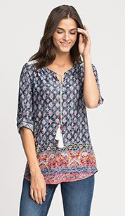 Bluse in bunt C & A, Shops, Kind Mode, Tunic, Blouse, Kleding, Women's, Tents, Retail