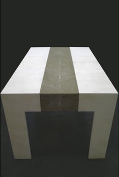 Coffee Table Parchment & Shagreen