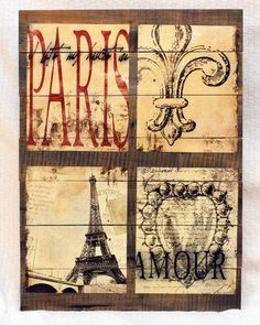 A French and Paris themed sign. Indoor only.