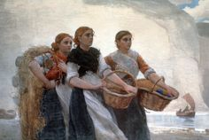 fishermen at sea painting - חיפוש ב-Google