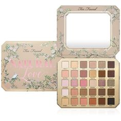 Too Faced Natural Love Eye Shadow Palette (€50) ❤ liked on Polyvore featuring beauty products, makeup, eye makeup, eyeshadow, no color, palette eyeshadow and too faced cosmetics