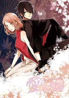 Tags: Fanart, NARUTO, Haruno Sakura, Uchiha Sasuke, Pixiv, Fanart From Pixiv, Pixiv Id 4791487