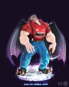 Ghostbusters - Hard Hat Horror by DanSchoening on DeviantArt