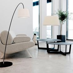 Le Klint - Snowdrop 320 Floor Light - Black