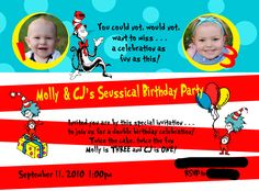 dr. seuss party ideas « Erin Farrell Photography – Delaware Wedding Newborn Baby Infant Child and Children's Photographer Wilmington Delaware DE