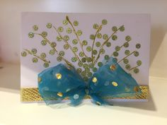 Handmade bday greeting