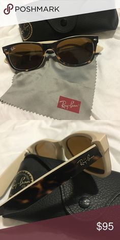 ray bands sun glasses  Ray-Ban tortoise shell wayarer