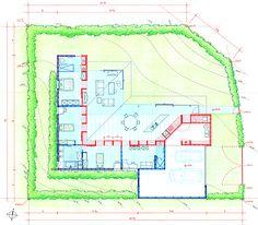 Elements Workshop - Fontaine-les-Dijon House - France - Plan