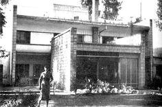 دار عائلة جودت، المعماريون إلين و نزار جودت، بغداد، الخمسينات
