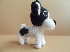 El blog de Noe - Aguja, lana y tijeras: Bulldog frances