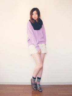 xoxo hilamee shoes shorts sweater