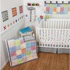 "Sumersault Doodles Bright 10-Piece Crib Bedding Set - Sumersault Ltd - Babies ""R"" Us"