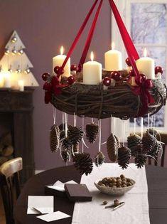 nice 36 Brilliant Ideas How to Use Pinecone For Indoor Christmas Decoration http://homedecorish.com/2017/11/23/36-brilliant-ideas-how-to-use-pinecone-for-indoor-christmas-decoration/