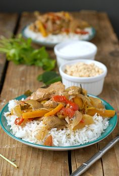 Slow Cooker Thai Red Chicken Curry with Coconut Milk - BoulderLocavore ...