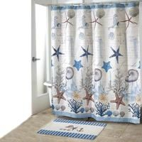 Deep Blue Sea Shower Curtain With Images Beach Shower Curtains