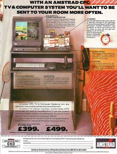 Amstrad TV and Computer System Ad.
